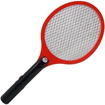 Raquete Elétrica Recarregável 127/220V (Mata Mosquitos, Pernilongos, Insetos)