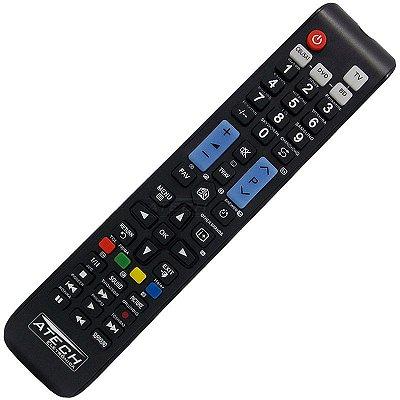 Controle Remoto Universal 4 em 1 para TV LCD e LED / Blu-Ray / DVD / CBL/Sat