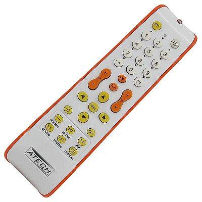 Controle Remoto Universal TV LED e LCD - Mais 100 Marcas Nacional e Importada