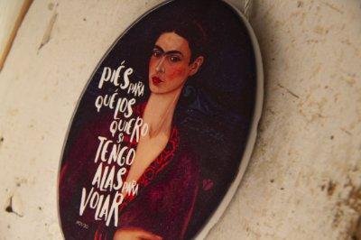 Azulejo - Vestido de Veludo - Frida Kahlo