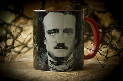 Caneca Corvo - Edgar Allan Poe