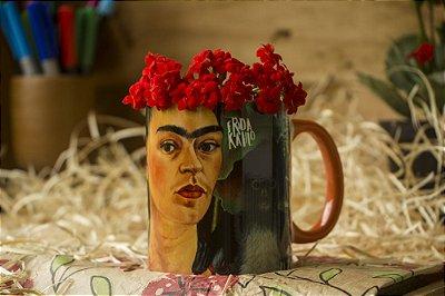 Caneca Auto Retrato - Frida Kahlo