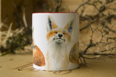 Caneca Red Fox