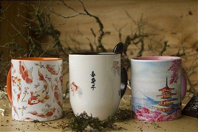 Conjunto Canecas Japão