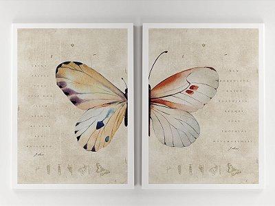 Prints - Borboletas