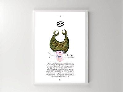 Print - Signos - Câncer