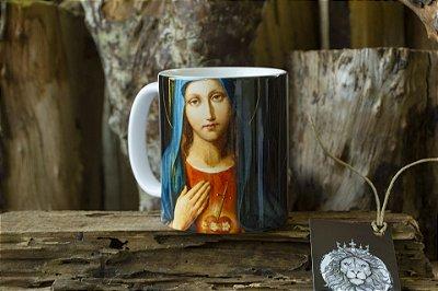 Caneca Virgem Maria