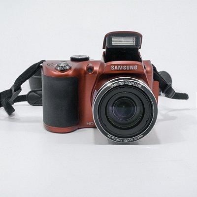 Câmera Samsung Zoom Lens WB100 26X de Zoom Optico