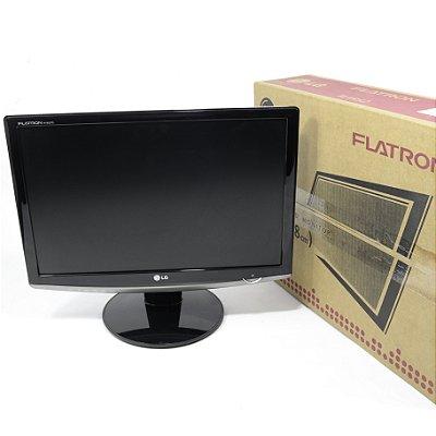 "Monitor LCD 19.5"" Polegadas LG FLATRON W1952TQ para PCs e Notebooks"