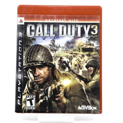 Jogo Call Of Duty 3 Greatest Hits para para PS3
