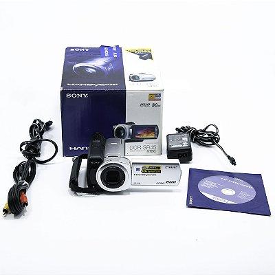 Câmera digital Sony Handycam DCR-SR45 seminova na caixa!