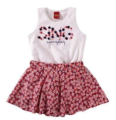 Conjunto Regata Shorts Saia - Kyly
