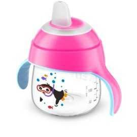 Copo Pinguim Rosa 200ml - Avent Philips