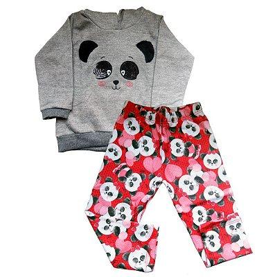 Conjunto Moletom Panda - Kika