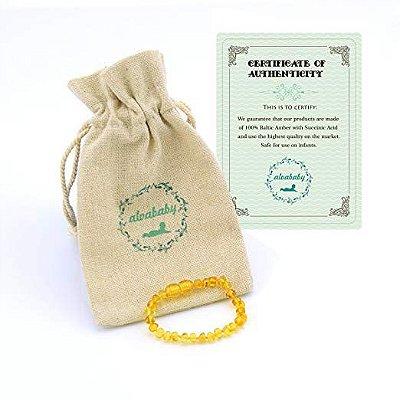 Bracelete Âmbar - Com Certificado