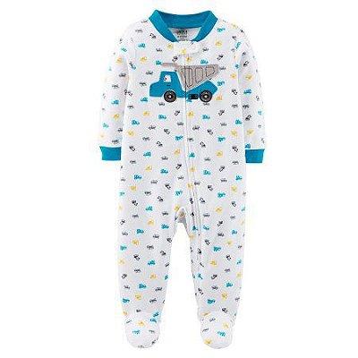 Pijama Macacão Caminhão - Menino - Carter's