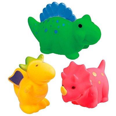 Brinquedos para Banho Dinossauros - Girotondo