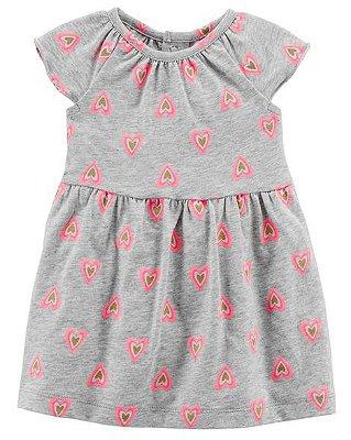 Vestido Coração Menina - Carter's