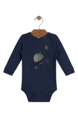 Body Manga Longa - Sistema Solar - Up Baby