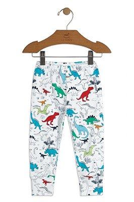 Calça em Suedine - Dinossauro Menino - Up Baby