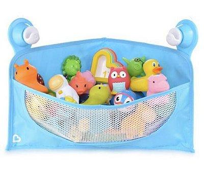 Cesta Organizadora para Brinquedos de Banho - Azul - Munchkin