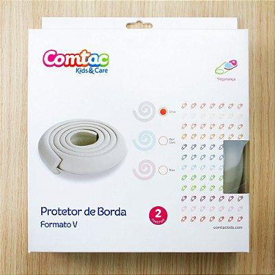 Protetor de Bordas Formato V - Cinza - 2 metros - COMTAC KIDS