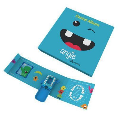 Dental Álbum - Porta Dentes - Azul - Angie