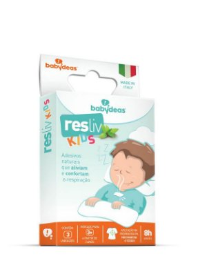 Resliv Kids - Adesivo Descongestionante - Babydeas