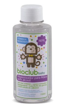 Refil Higienizador para Mãos Orgânico - Bioclub