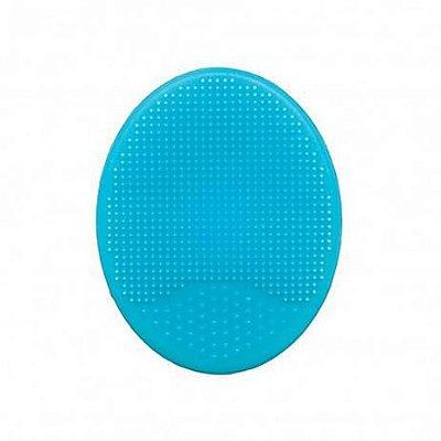 Escova para Banho Silicone - Azul - Buba