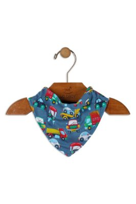 Babador Bandana - Carros - Up Baby