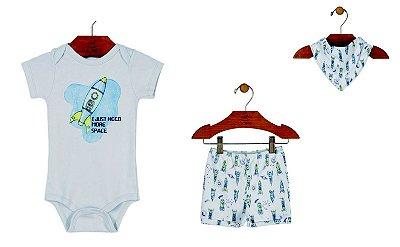 Kit Up Baby - Menino - Foguete