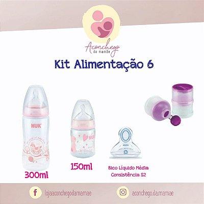 Kit Alimentação - NUK - Menina