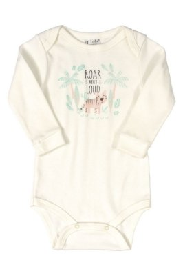 Body Manga Longa - Animais Floresta - Up Baby