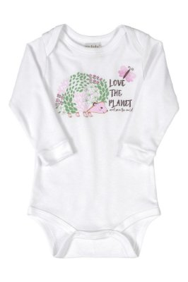 Body Manga Longa - Animais Silvestres - Up Baby