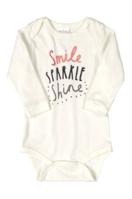 Body Manga Longa - Smile Shine - Up Baby