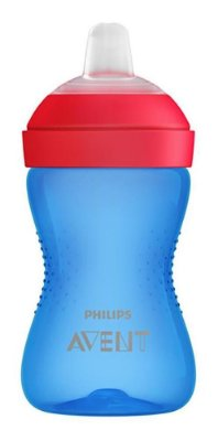 Copo Bico Macio - Azul/Vermelho - Avent Philips
