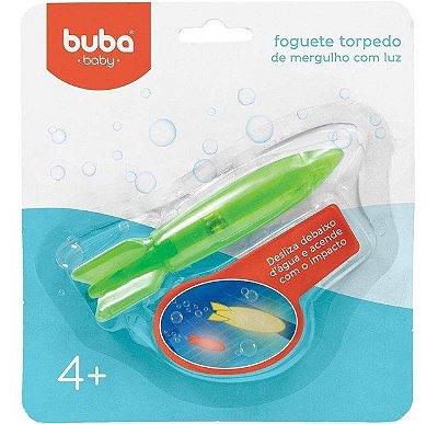 Brinquedo Foguete Torpedo de Mergulho com Luz - Buba