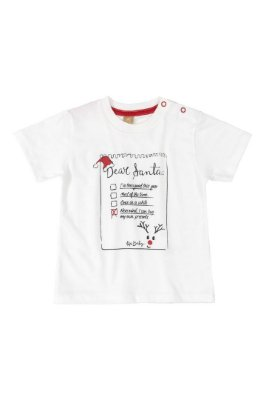 Camiseta Manga Curta - Natal - Up Baby