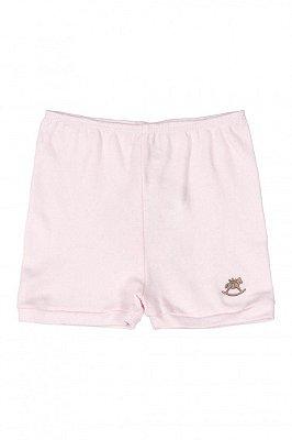 Shorts em Suedine - Rosa Claro - Up Baby