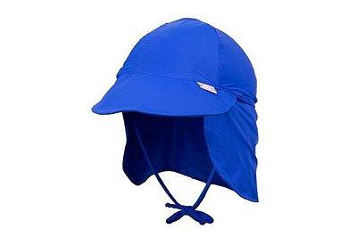 Chapéu Ajustável Uv 50 + - Azul Royal - Panda Pool
