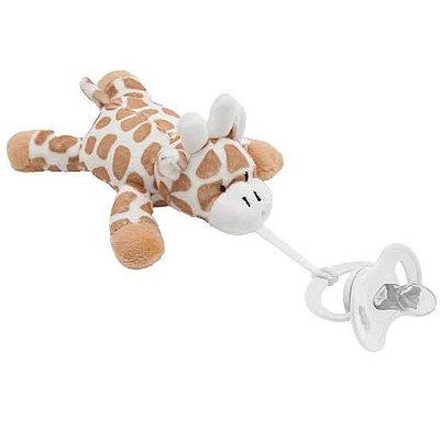 Prendedor de Chupeta - Minha Girafinha - Buba