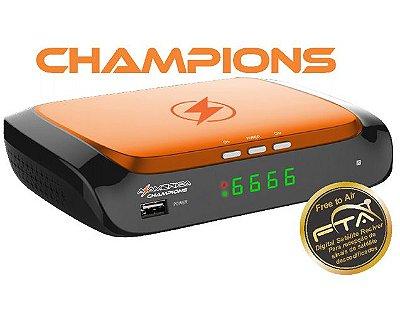 Azamerica Champions ACM, 4K, H265 - Lançamento Azamerica