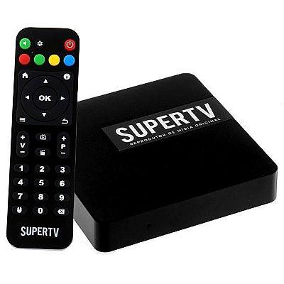 Receptor SuperTV IPTV - Android - Full HD - F.T.