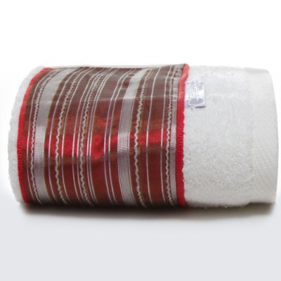 Toalha Lavabo Classic Vermelha 30 X 50