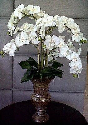 Arranjo Vaso Itália P 7 Orquídeas