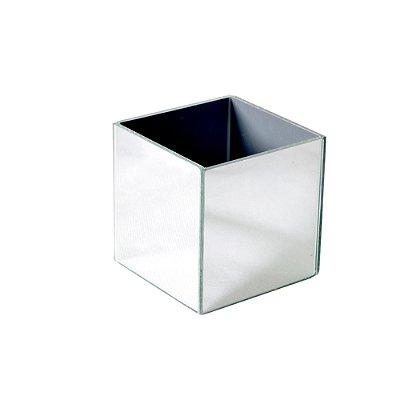 Vaso Espelhado Cubo 8 X 8 X 10