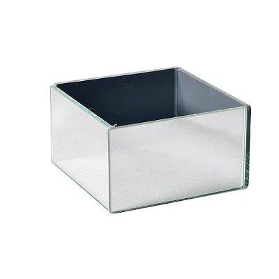 Vaso Espelhado Cubo 8 X 8 X 5