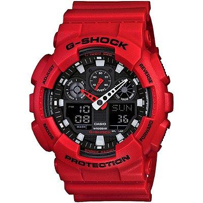 Relogio Casio G-SHOCK GA-100B-4ADR