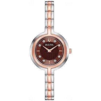 Relógio Bulova RHAPSODY Diamond 98p194 feminino